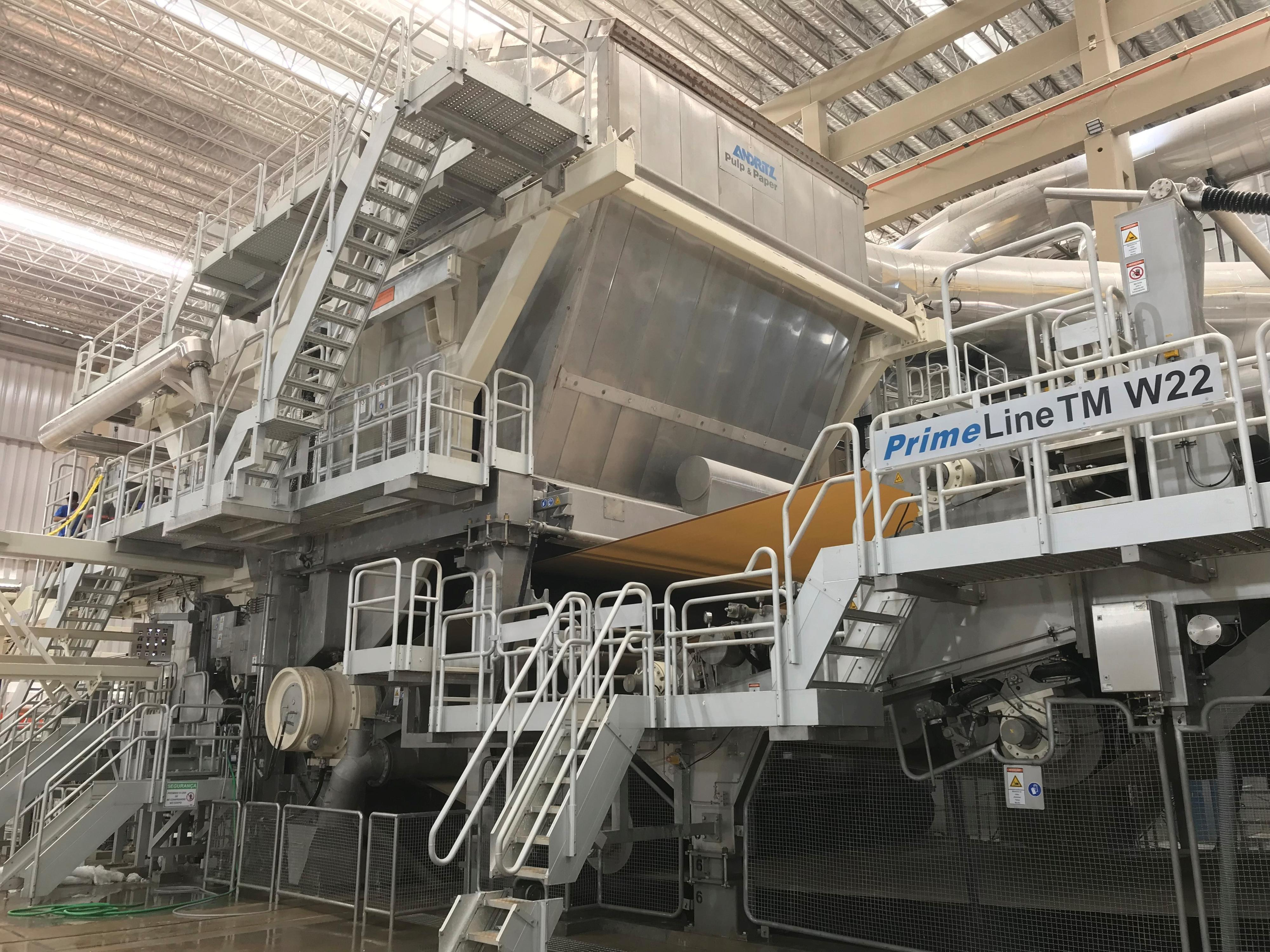 Andritz Successfully Starts Up Tissue Machine With The