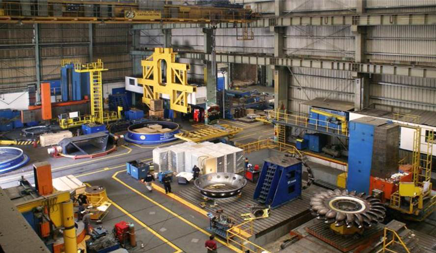 Manufacturing at ANDRITZ HYDRO in Mexico