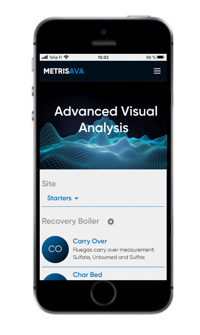 Metris AVA Mobile Application