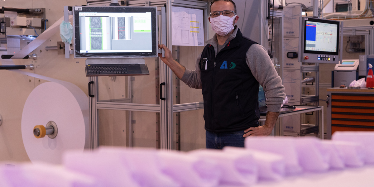 Nonwoven Converting Hygiene For Producing Face Masks