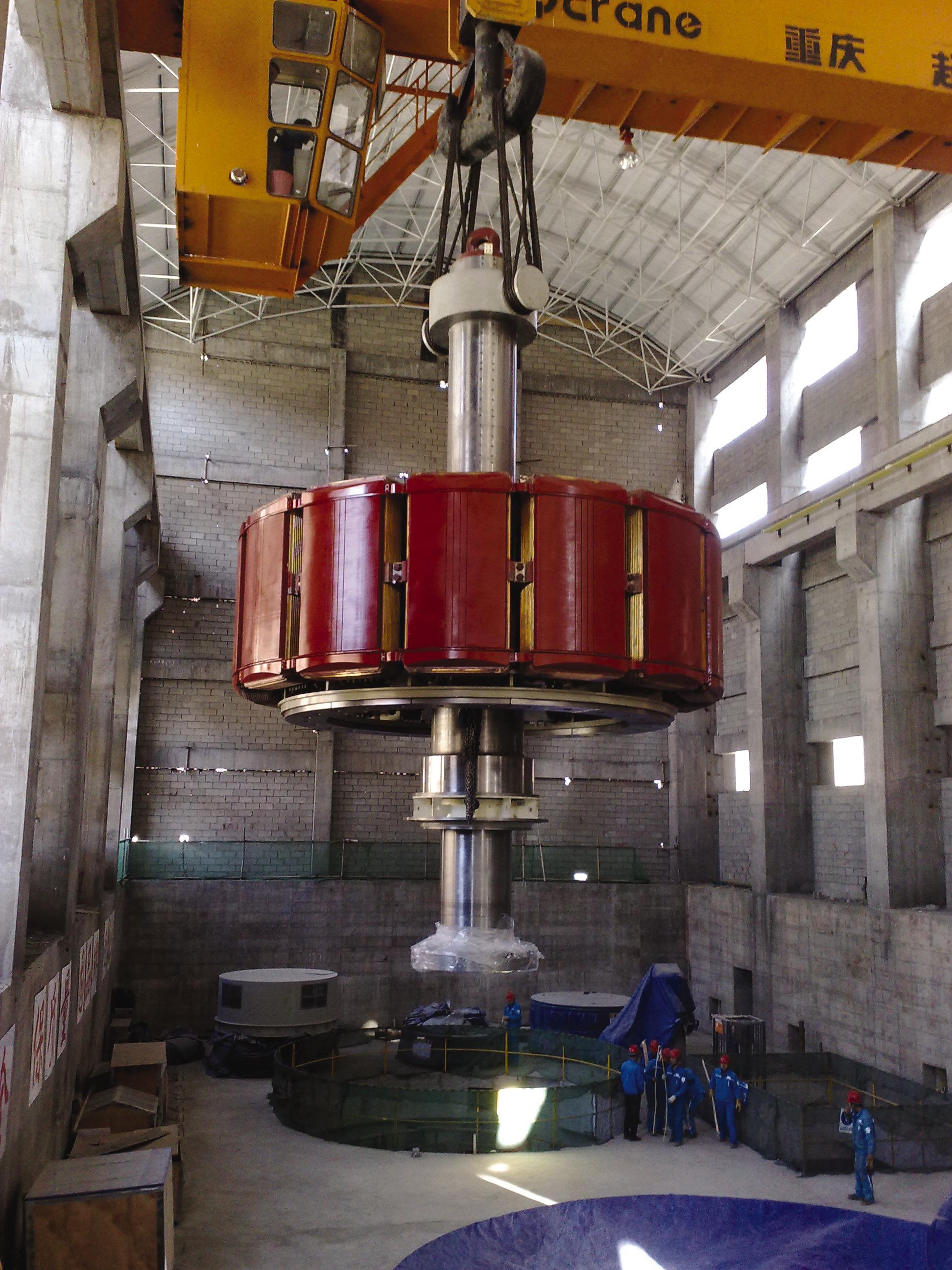 Hydro News 28 - Hydropower Plant Lalashan  China