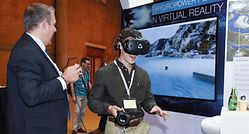 view a Hydropower plant in the virtual reality